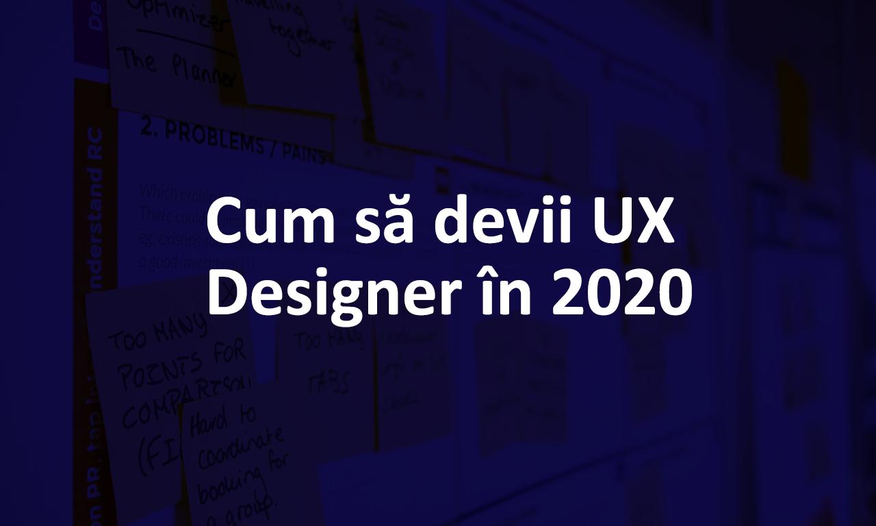UX Design în 2020