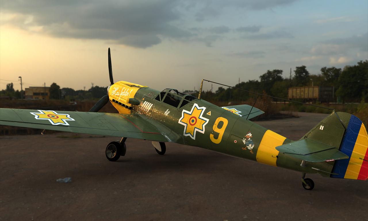 """Messerschmitt Bf 109 E3 """"Nr. 9"""""""